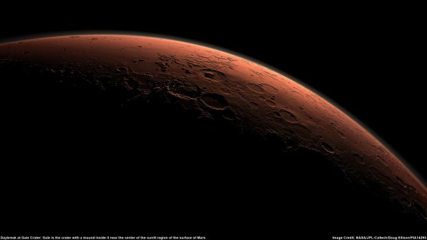 Amanecer en Marte. / NASA/JPL-Caltech/Doug Ellison/PIA 14293