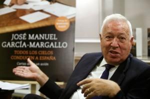 Margallo, en la presentación de su libro.