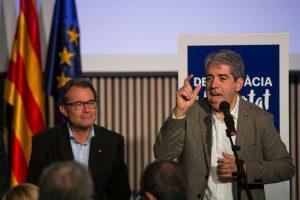 Francesc Homs con Artur Mas
