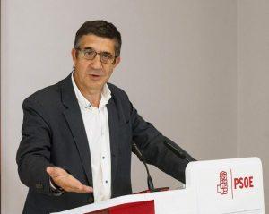 Patxi López, dirigente socialista vasco