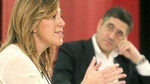 Susana Díaz con Patxi López