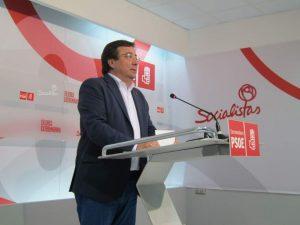 El presidente de Extremadura, Guillermo Fernández Vara