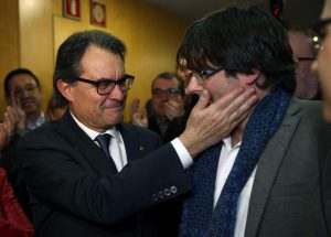 Mas y Puigdemont