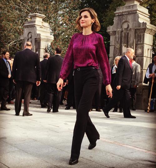La Reina en Colombres. Eso es poderío... Foto: IG @patridekimi