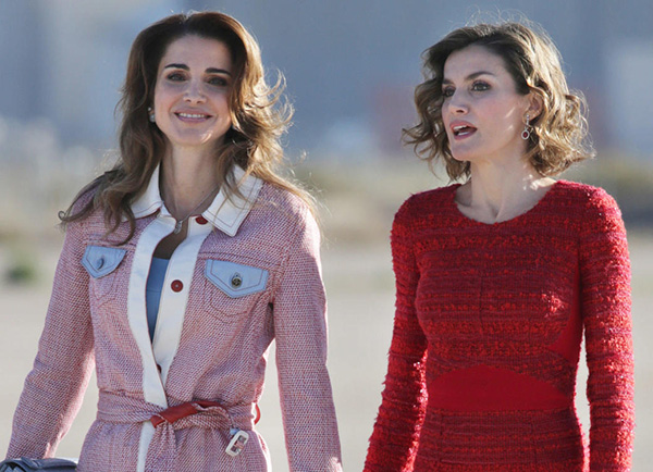 La Reina Rania de Jordania y Doña Letizia Ortiz, al fin juntas.