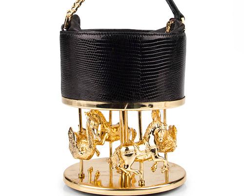 El bolso carrusel de Inés Figaredo que compró Lady Gaga.