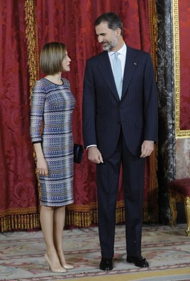 También lo escogió en una reunión con Felipe VI para elegir al Presidente de la Republica arabe de Egipto Abdel Fattah AlSisi
