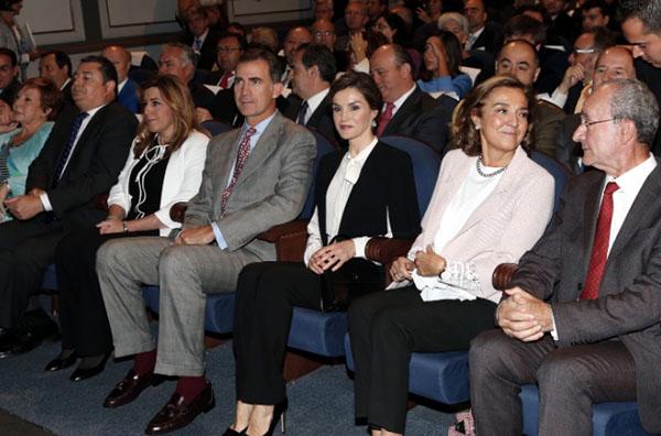 Los Reyes en la entrega de Premios.