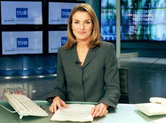 Doña Letizia Ortiz ya desprendía cierta elegancia cuando presentaba el Telediario de TVE
