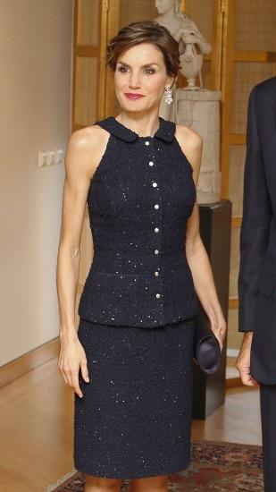 En Washingthon tweed con lentejuelas de Nina Ricci, 2.700 euros