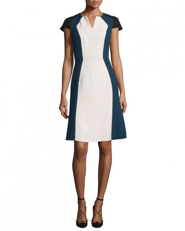 Tal es el éxito que ha tenido el vestido lápiz de Leti, que una temporada después lo siguen fabricando en otros colores, el precio rebajado: 1300 euros.