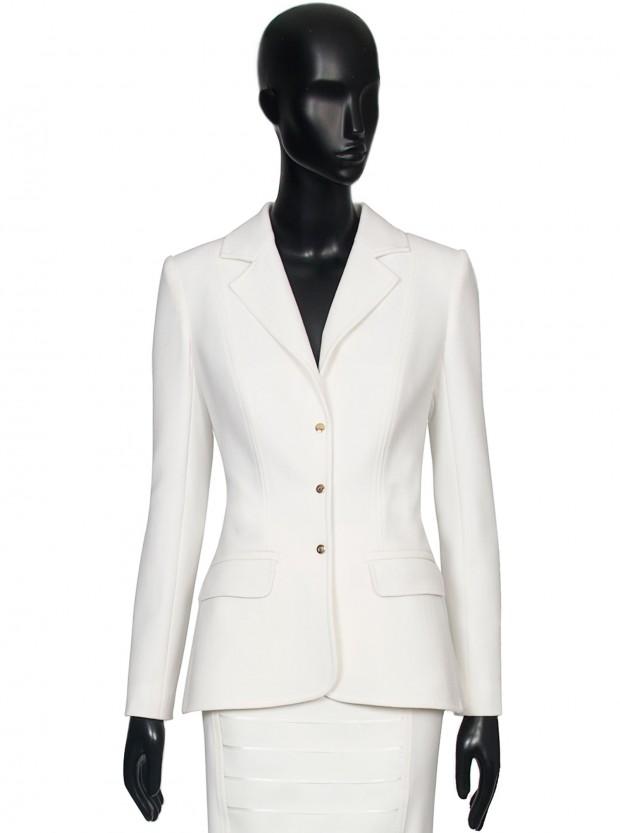 chaqueta smoking en doble crepe de lana, de 875 pasa a costar 525 euros