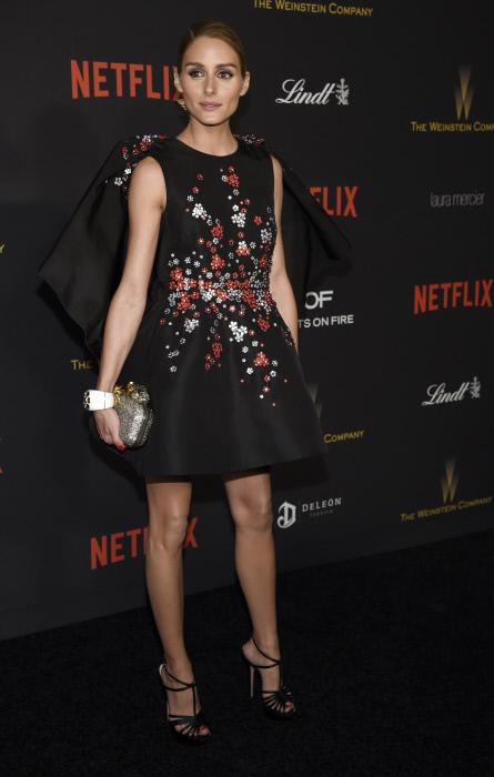 Olivia Palermo, es una abonada a Jimmy Chho, aquí durante los últimos Golden Globes