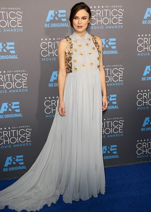 En el último año la actriz Keira Knightley se ha vestido de Del Pozo en varias ocasiones