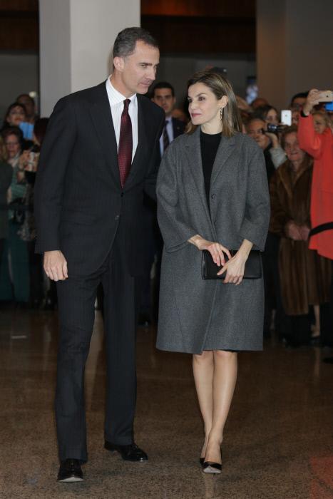 """Los reyes Felipe VI y Letizia Ortiz """"In Memoriam"""""""