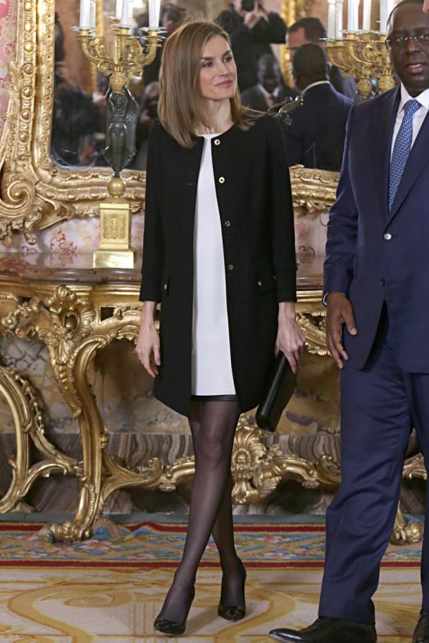 Felipe y Letizia recibieron en la Zarzuela a la Junta Directiva de la Academia de Cine,