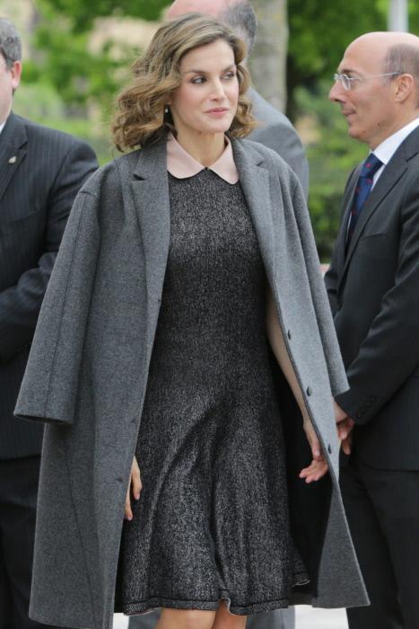La reina Letizia durante la inauguración del III Congreso Educativo Internacional sobre Enfermedades Raras en Bilbao. 21/04/2016 Bilbao