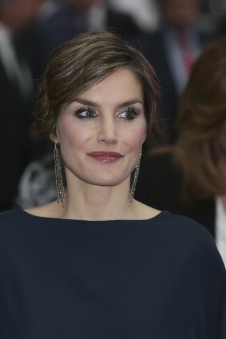 """La reina Letizia Ortiz durante los premios Ortega y Gasset de periodismo 2016 en el 40 aniversario de la publicación """" El País """" en Madrid 05/05/2016"""
