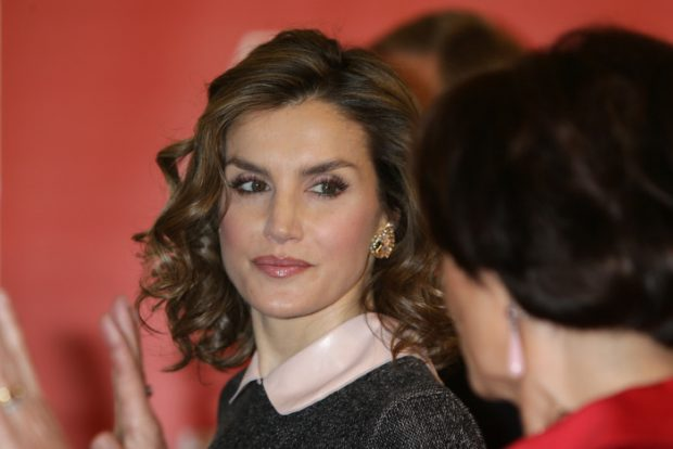 """Queen Letizia attends the opening of the exhibition """"Recognizing the Spanish heritage in Europe"""" at the College of Architects in Madrid, on Monday 23rd May, 2016."""
