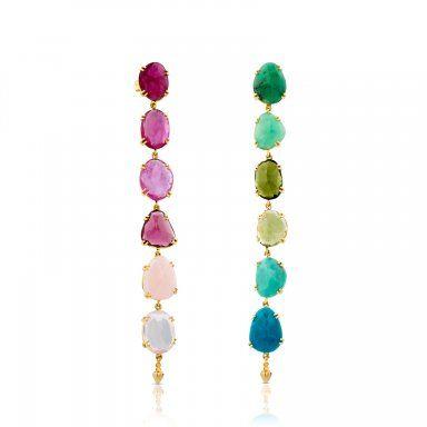 Los muy coloridos y originales pendientes de la colección exclusiva de Tous