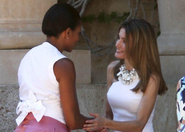 El Palacio de Marivent fue testigo del primer encuentro entre Michelle y Letizia en 2010