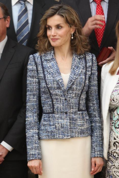 La Reina de España Letizia Ortiz duraNte los Premios Reina Letizia del real Patronato sobre Discapacidad 08/07/2016 Madrid
