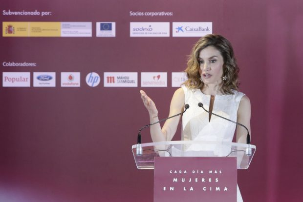 Queen Letizia of Spain during the 25th edition of the awards FEDEPE (Spanish Federation of Women Directors, Executives, Professionals and Businesswomen) in Madrid mrtes July 26, 2016