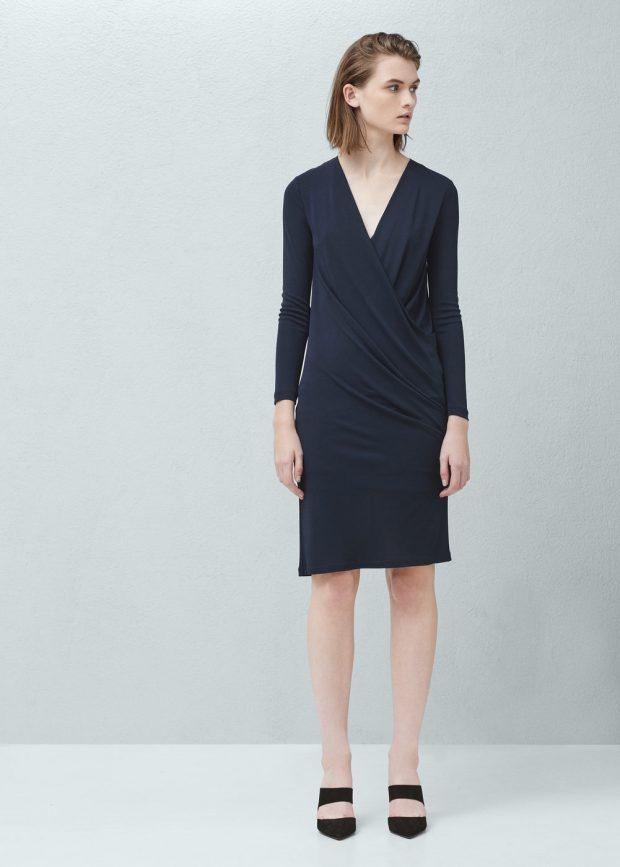 Mi propuesta: vestido de Mango drapeado de 39,95 a 19,95 euros