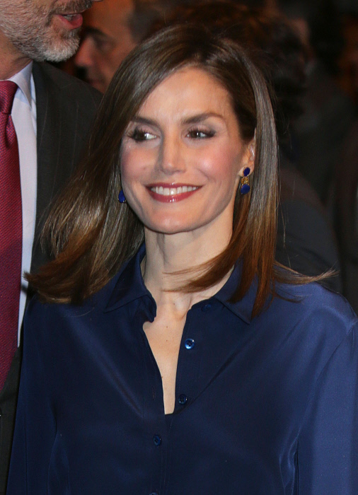 Queen Spain Letizia  during the commemoration of the centenary of the birth of Don Camilo Jose Cela in Madrid on Wednesday 17 September 2016.