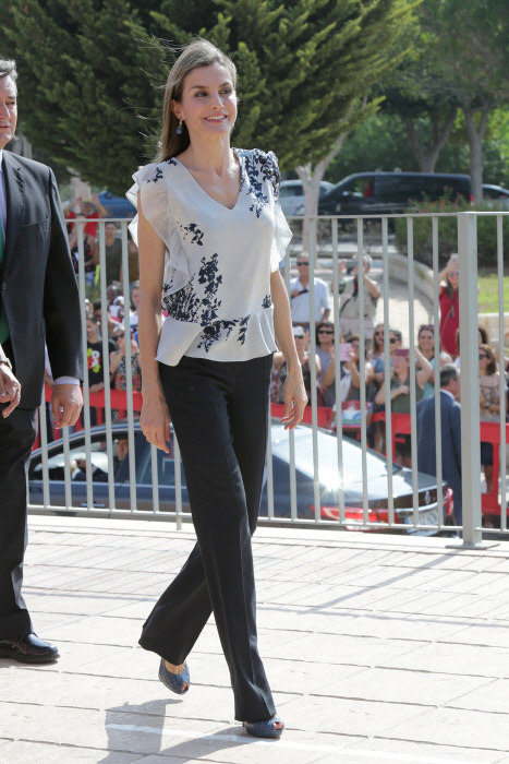 Spanish Queen Letizia in Almería during the opening of the school year 2016.Tuesday, September 13th 2016