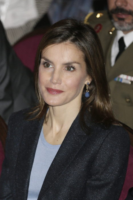 Spanish Queen Letizia during Congress' Save Food 2016 '' in Madrid  Monday September 26, 2016.