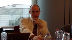 Daniel Hannan defendió la necesidad de que el Reino Unido pueda tener su propia política comercial / Núria Segura Insa
