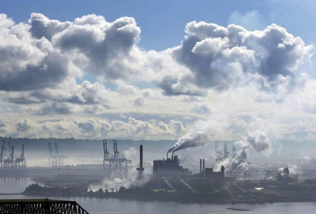 Planta de celulosa en Tacoma, en Washington / GTRES