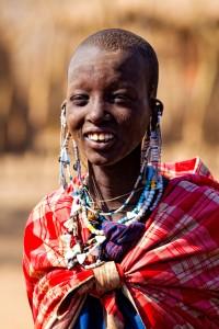 Rapaza Masai / Masai Chick  Ngorongoro National Park (Tanzania) / Flickr: Feans
