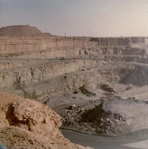 Mina de uranio - Níger