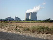 central nuclear en Francia