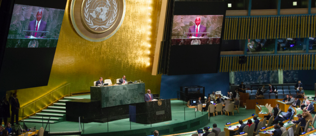 Asamblea General, 69 sesión. / UN