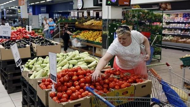 Supermercado ruso sin productos de la UE / EFE
