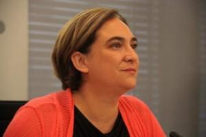 Alcaldesa de Barcelona, Ada Colau, en rueda de prensa / ACN