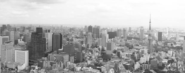 Skyline de Tokio. Crédito: Freepiks.com