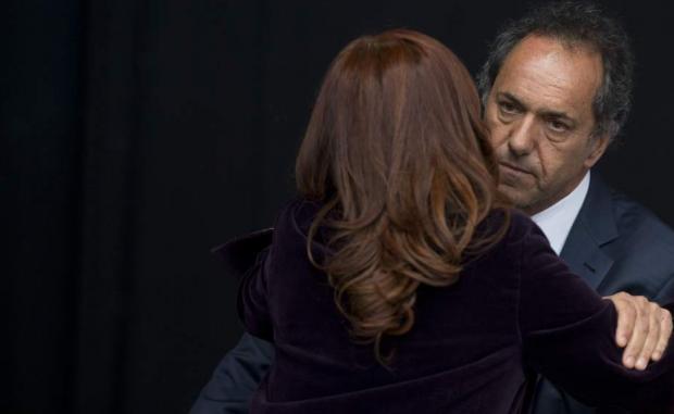 Cristina Fernández de Kirchner y Daniel Scioli (GTRES)