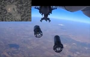 Una imagen del ministerio de Defensa ruso de las bombas que utiliza este país para atacar el EI en Siria / EFE
