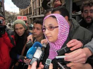 Aminetu Haidar es la cara más mediática de la reivindicación saharaui / EUROPA PRESS
