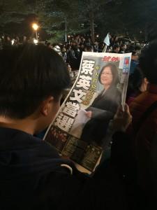 Tsai Ing-wen es la primera mujer en ganar unas presidenciales en la historia de Taiwán / Chien Hung Lin - FLICKR