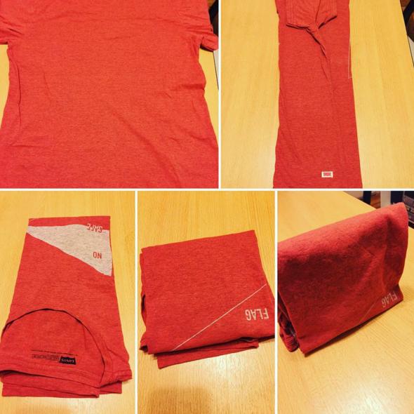 Paso a paso: cómo doblar una camiseta con el método KonMari