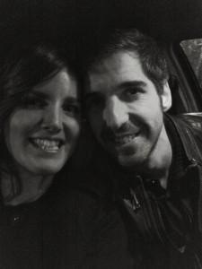 La pareja de turistas españoles que dejaron varados en Torres del Paine. Foto: Blog de Gorka y Pau.