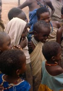 Niños somalíes
