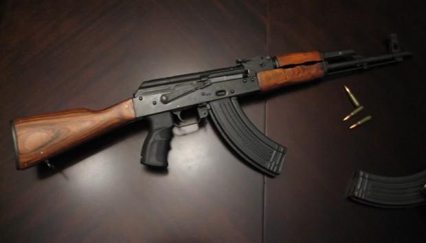 Ejemplo de un fusil AK 47 - Crédito: photobucket.com