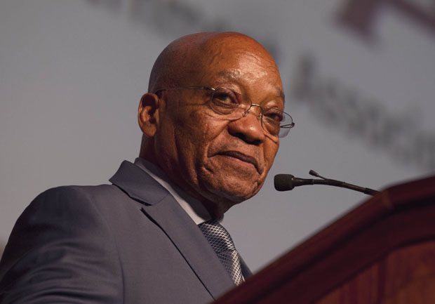 President Jacob Zuma addressing the South African Local Government Association National Members Assembly at Gallagher Convention Centre in Midrand.24/03/2015 Kopano Tlape DoC