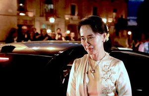 La política Suu Kyi, activista por la democracia, venció en las primeras elecciones libres, celebradas en noviembre / SHAWN LANDERSZ - Flickr
